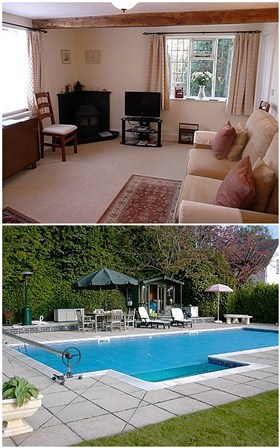 Garth Cottage In Pershore Worcestershire Holiday