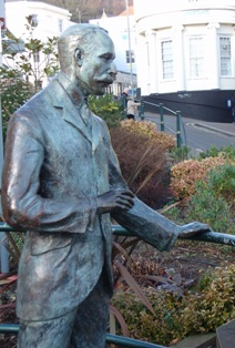 Statue of Sir Edward Elgar