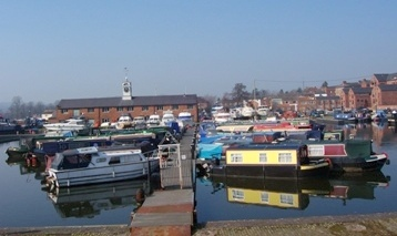 Stourport Canal Basins